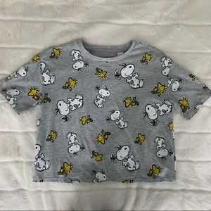 Snoopy Graphic Printed T-Shirt